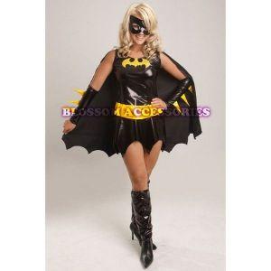 Carnival costume super-heroine