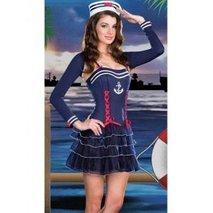 Carnival costume seductive sailors