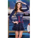 Карнавальный костюм соблазнительной морячки