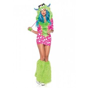 Carnival monster suit with socks