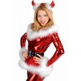 Рождественский костюм в стиле Санты с рожками по оптовой цене