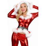 Блестящий новогодний костюм для женщины цена фото
