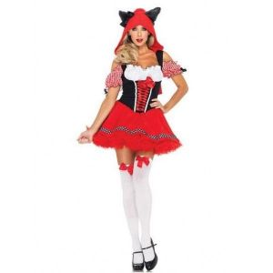 Costume evil red riding hood