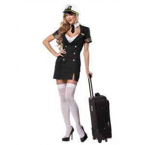Carnival costume, sexy pilot. Артикул: IXI21202