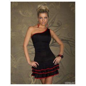 Страстоне, черное мини-платье - * Большие размеры