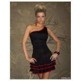 Страстоне, черное мини-платье -