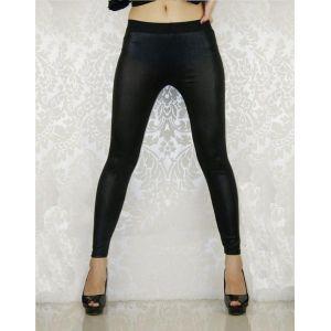 Black leggings under the skin