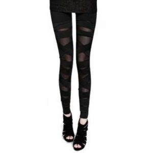 Stylish black leggings. Артикул: IXI21589