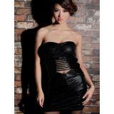 Sexy mini strapless dress