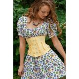 Charming yellow corset