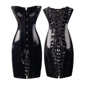 Long corset dress