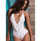 Sexy bikini of white color