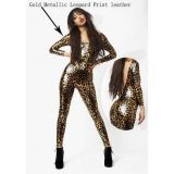 Leopard costume with leopard shut