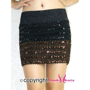Bright skirt with sequins. Артикул: IXI22186