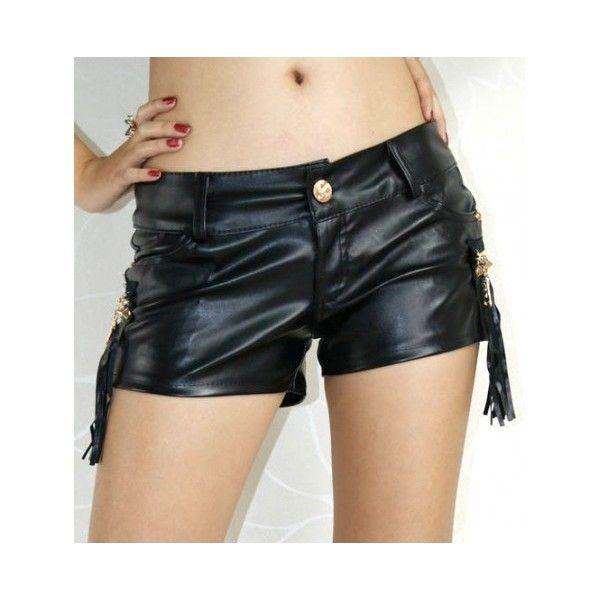 Сексапильные шорты черные