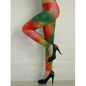 Leggings with a captivating print