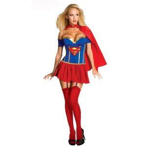 Эротичный костюм Супер женщины - Карнавальные костюмы