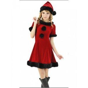 РАСПРОДАЖА! Новогодний костюм. Красный - Карнавальные костюмы