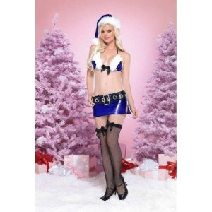 SALE! The costume sexy snow Maiden with fuzz