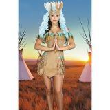 РАСПРОДАЖА! Карнавальный костюм индианка по оптовой цене