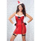 Красное Новогоднее платье по оптовой цене