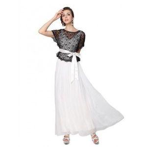 РАСПРОДАЖА! Черно-белое вечернее платье - Вечерние платья