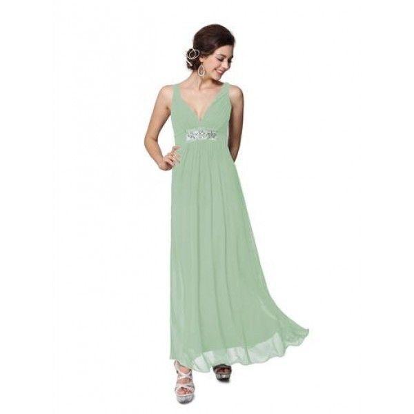 Сексапильное бирюзовое вечернее платье