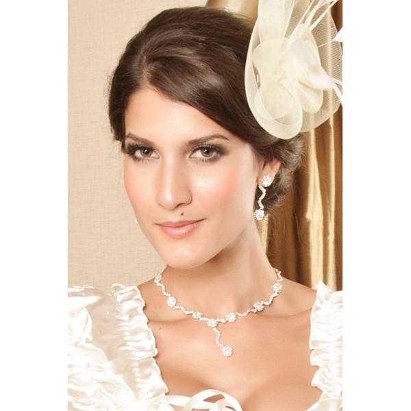 Купить онлайн Набор из ожерелья и серьг фото цена акция распродажа