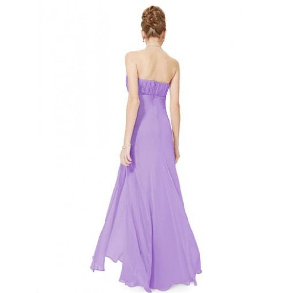 Sexy dress with shimmering stones lavender. Артикул: IXI23617