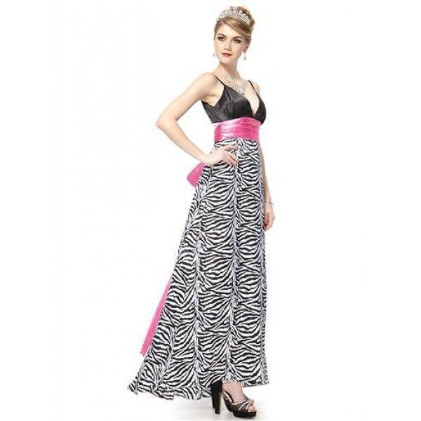 Платье с длинным розовым бантом