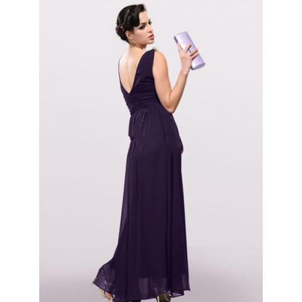 Evening dress with high waist. Артикул: IXI23718