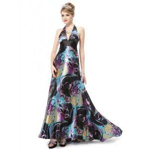 Long dress with open back. Артикул: IXI23727