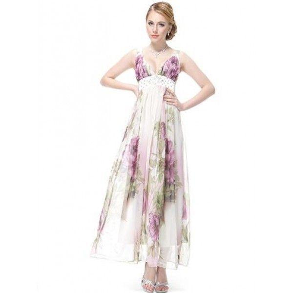 Сиреневое платье с мерцающим поясом