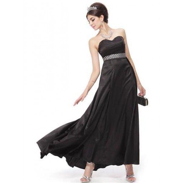 Платье без бретель с длинным бантом
