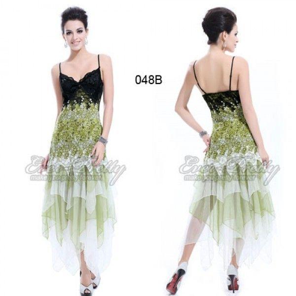 Мерцающее платье с юбкой клиньями