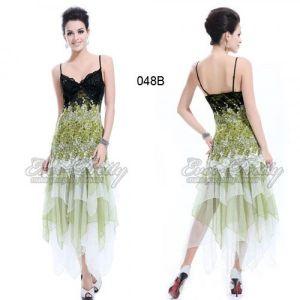 РАСПРОДАЖА! Мерцающее платье с юбкой клиньями - Вечерние платья