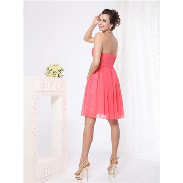 SALE! Dress with shirred bodice without straps. Артикул: IXI23955