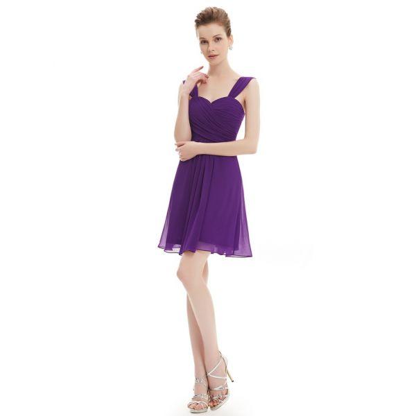 Очаровательное платье с гофрированным лифом