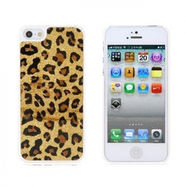 РАСПРОДАЖА! Леопардовый чехол для iPhone 5