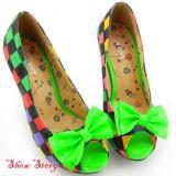 РАСПРОДАЖА! Разноцветные туфли по оптовой цене