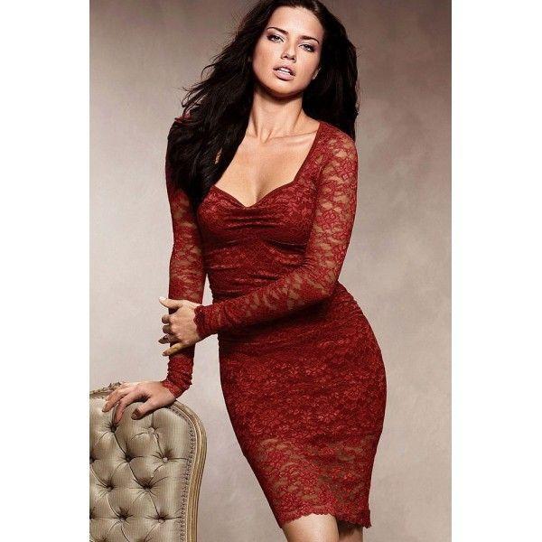Длинное красное платье доставка