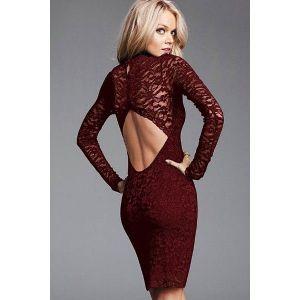 Open dress