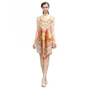 Легкое хлопчатобумажное летнее платье - Пляжная одежда