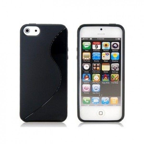 Чехол для iPhone 5 (черный)