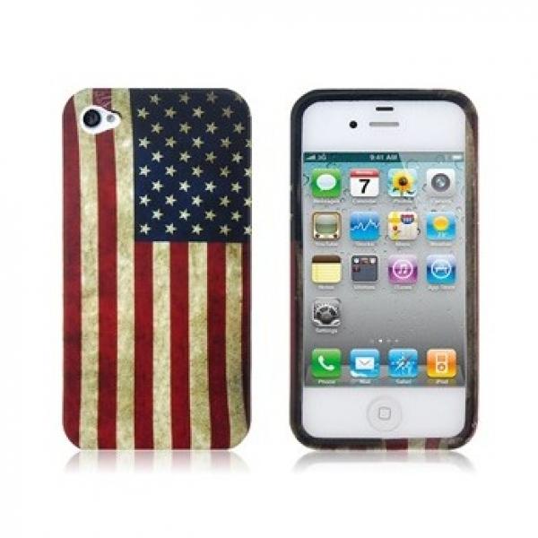"Чехол ""Америка"" для iPhone 4/4S"