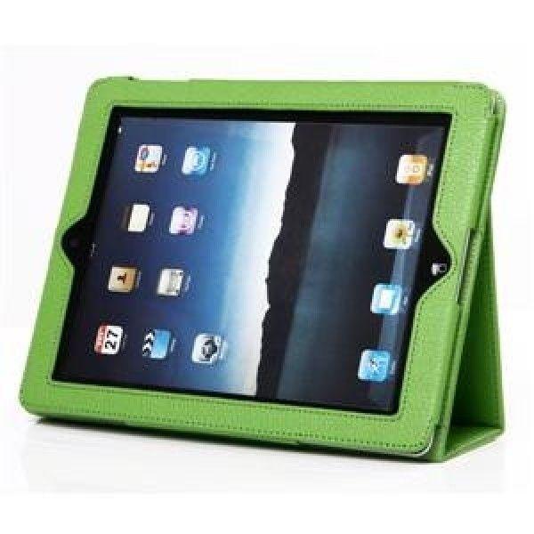 Чехол для  iPad 2 (зеленый)