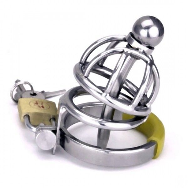 BDSM (БДСМ) - The Asylum Chastity Device - Two Layers Cage