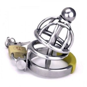 The Asylum Chastity Device - Two Layers Cage