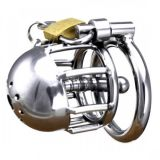 Steel chastity belt