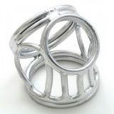 BDSM (БДСМ) - Серебрянное тройное кольцо